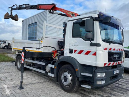 MAN two-way side tipper truck TGM 18.290