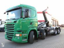 G 450 8x2 Abrollkipper Meiller 30to Haken, Euro 6 truck used hook lift
