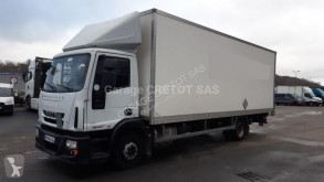 Teherautó Iveco Eurocargo ML 120 E 21 P használt költöztetés furgon