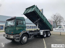 Lastbil Renault G300 Full steel - 2 Ponts - Pompe meca - Manual flak begagnad