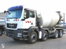 Camión Camion MAN TG-S 32.360 8x4 Betonmischer Stetter 9m³, deutsch