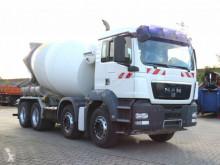 MAN concrete mixer truck TGS TG-S 32.360 8x4 Betonmischer Stetter 9m³, deutsch