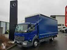 Camión tautliner (lonas correderas) Mercedes Atego Atego 818 L Pritsche/Plane Klima Schiebplanen