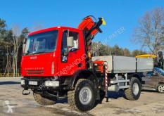 Camión caja abierta Iveco 140E18 4x4 PALFINGER PK 12500 DRILL Cran Kran