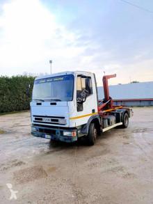 Camion polybenne Iveco 80 E18 BALESTRATO ANTERIORE E POSTERIORE