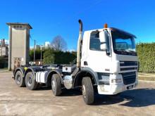 Kamión hákový nosič kontajnerov DAF CF85 MEZZO D'OPERA BALESTRATO ANTERIORE E POSTERIO