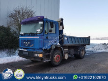 MAN F90 19.322 truck used three-way side tipper