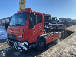 Camião porta carros Renault D180 + OMARS S.ASL.FLK-001 MET REMOTE