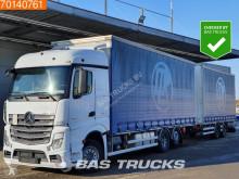 Mercedes Actros 2545 trailer truck used tautliner