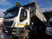 Iveco half-pipe tipper truck Trakker 450