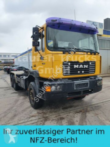 Camion MAN 27 464 6X4 MEILLER Abroller 3.85m Radst. BLATT multibenna usato