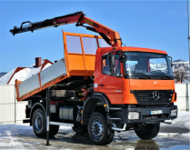 Mercedes tipper truck Axor 1829 Kipper 3,90m +Kran/Funk*4x4 Topzustand