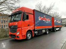 Mercedes Actros Actros 1842 Retarder Komplettzug LKW+Anhänger Eu trailer truck used tarp