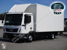 MAN furgon teherautó TGL 8.190 4X2 BL, Euro 6, Koffer LBW, AHK, Klima