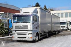 Kamión s prívesom valník s bočnicami a plachtou MAN TGA MAN TGA 18.440 E5 Volumen ZUG!
