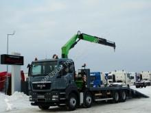 Camion MAN TGS 35.360/8x2/TOW 7,9M+CRANE FASSI F170/RADIO plateau occasion