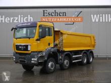 Vrachtwagen MAN TGS 35.440 8x6 BB, Carnehl 18m³ Hardox, Klima,AP tweedehands portaalarmsysteem