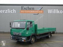 Camion plateau ridelles MAN 8.145 LLC Pritsche, 2. Hand, 3 Sitze, Blatt/Luft