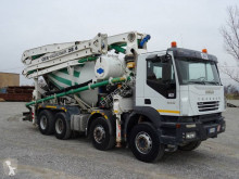 Camion Iveco Trakker 410 T 44 béton malaxeur + pompe occasion