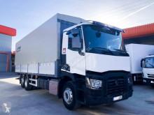 Vrachtwagen Renault Premium 380 tweedehands platte bak