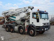 Iveco concrete mixer + pump truck concrete truck Eurotrakker 410E44 H