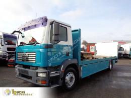 MAN TGM 18.240 truck used flatbed