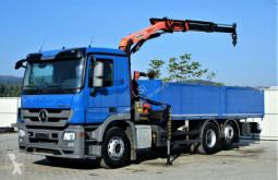 Ciężarówka Mercedes Actros 2541 Pritsche 6,50m+ Kran+FUNK*6x2* platforma używana