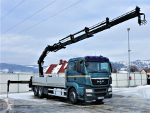 Ciężarówka platforma MAN TGS 26.440 Pritsche 6,45 m+Kran/FUNK*Topzustand!