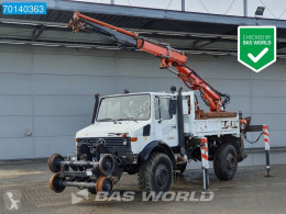 Unimog U1750 truck used two-way side tipper