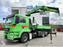 Camion MAN TGS 26.480 6x4H-2 BL Hydrodrive HMF 4220 K5 plateau occasion