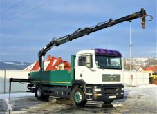 Ciężarówka platforma MAN TGA 18.390 5,70m+ Kran/Funk *Topzustand!