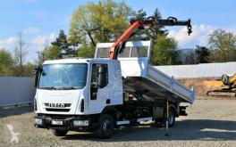 Ciężarówka platforma Iveco EUROCARGO 120E22 Kipper 4,20m + Kran/Funk !*
