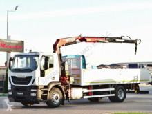 Camion cassone Iveco STRALIS 310/4X2/BOX-7,15M+CRANE FASSI F155/RADIO