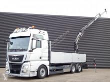 MAN TGX 26.440 truck used flatbed