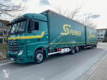 Kamión s prívesom Mercedes Actros Actros 2545 Retarder / Euro 6 / Komplettzug valník s bočnicami a plachtou ojazdený