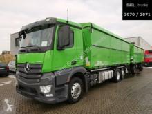 Kamión s prívesom korba náves na prepravu obilia Mercedes Antos Antos 2645/Kompressor/ Schleuse/ Lenkachse/Agrar