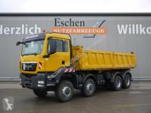 MAN TGS 35.440 8x6BB Meiller 3-Seiten, Klima, 1.Hand truck used three-way side tipper