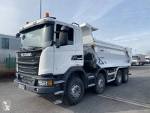 Scania G 410 truck used tipper