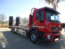 Volvo heavy equipment transport truck