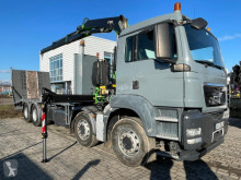 MAN heavy equipment transport truck TGS 35.360