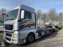 Camion remorque MAN TGX 26.400 porte voitures occasion