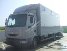 Camion van à chevaux Renault Midlum 270.18 DXI