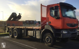 Renault Kerax 370 DXI truck used flatbed