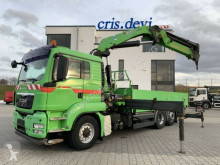 Camion MAN TGS TGS 26.480 6x4H-2 BL Hydrodrive HMF 4220 K5 plateau ridelles occasion