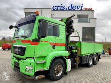 Camión caja abierta teleros MAN TGS TGS 26.480 6x4H-2 BL Hydrodrive HMF 4220 K5