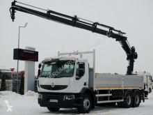 Kamión valník Renault KERAX 380 DXI/6X4/L:6,8M+CRANE HIAB 166/RADIO