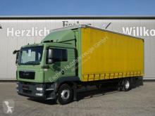 Camion cu prelata si obloane MAN TGM 15.340 BL, Krone Aufbau, Scheckheft, Klima