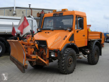 Unimog Unimog U 408 10 2-Achs Allradkipper Schild+Streu road network trucks used special vehicles