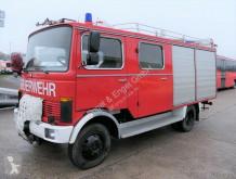 Kamion Mercedes LP 709 D LF 8 DoKa AHK 4x2 SFZ FEUERWEHR OLDTIME hasiči použitý