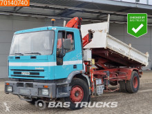 Iveco Eurotech 190E24 truck used three-way side tipper